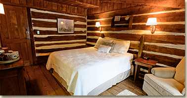 room in rustic smoky mountain resort in nc