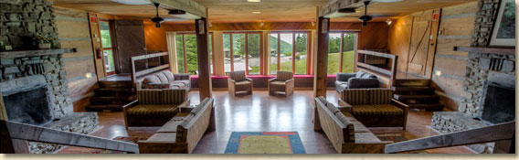 group meeting space at smoky mountain ranch and resort